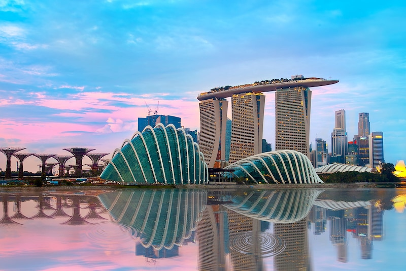 Singapore is one of the destinations which can be visited at all the times throughout the year, well the most favorable time to visit the city is from December to June