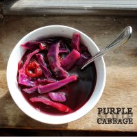 Purple Cabbage Soup