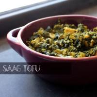 Kale Saag Tofu