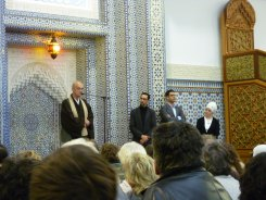 A Buddhist monk, imam, and pastor all walk into a mosque...