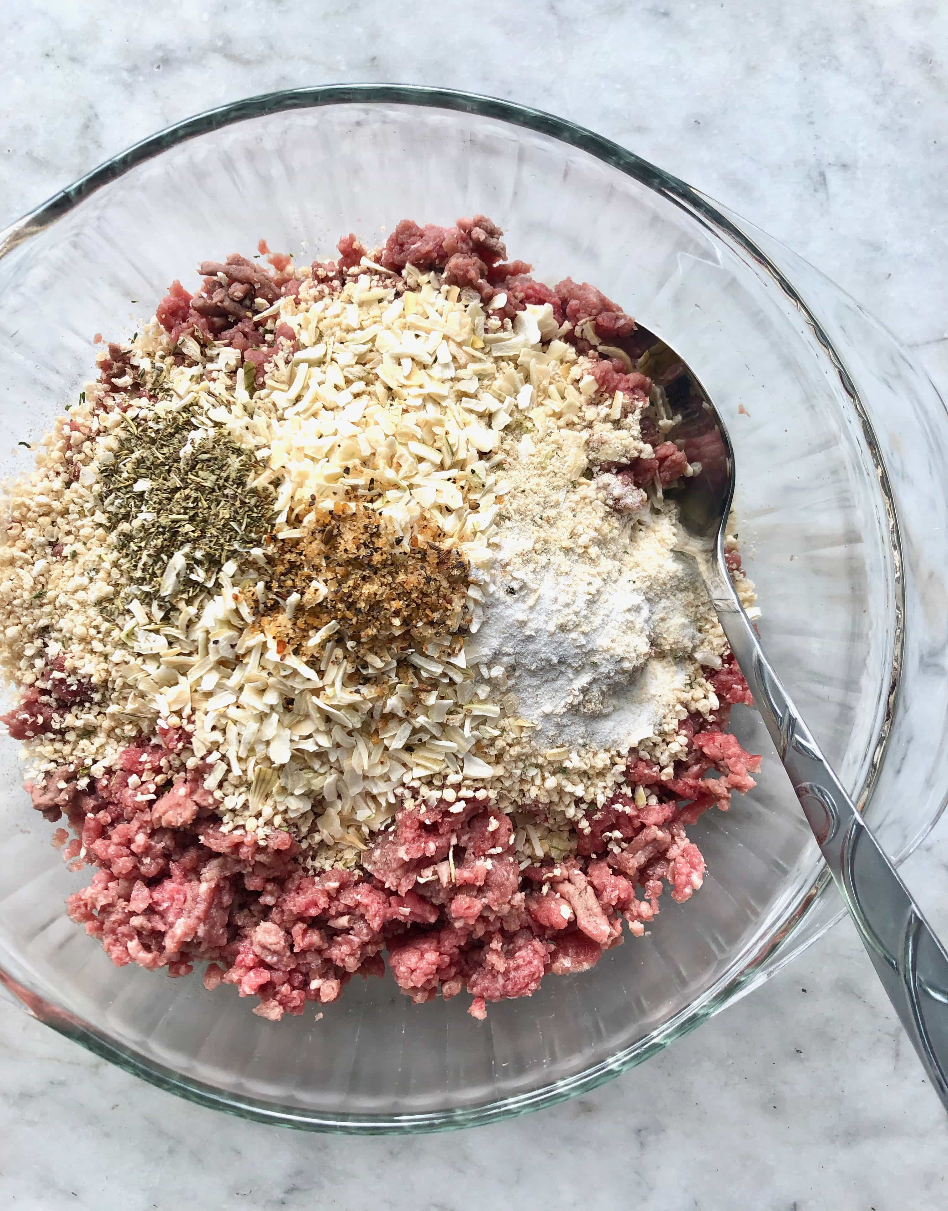 bread crumb mixture