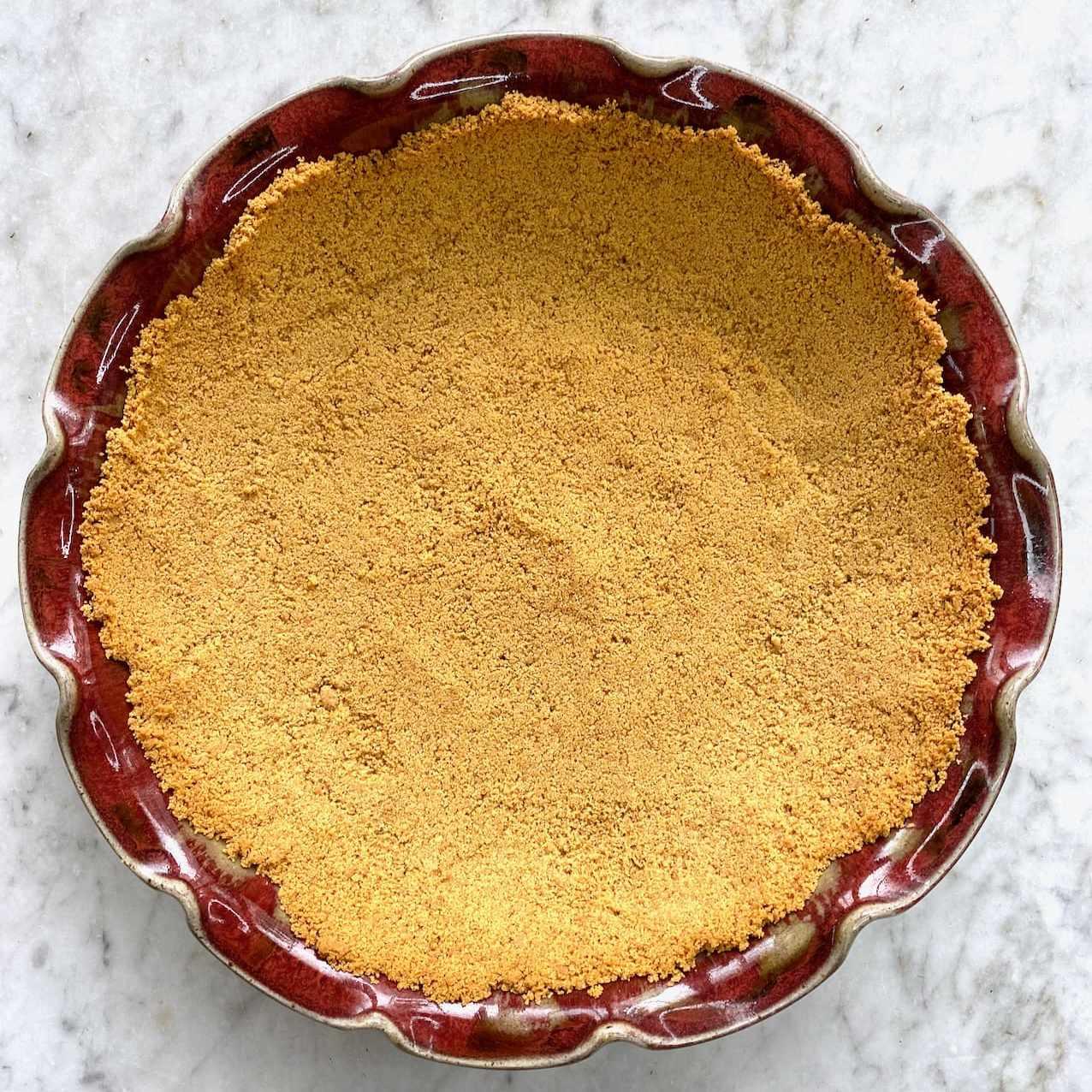 graham cracker crust for a pie