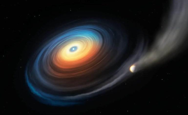 The White Dwarf planet