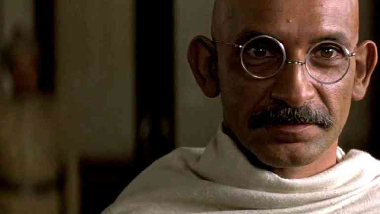 Gandhi- great movies that will inspire the leader in you