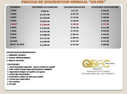 PRECIOS DE SUSCRIPCION MENSUAL1