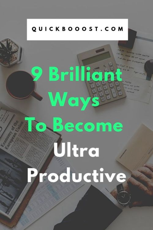 It's time to increase productivity like never before! Use these productivity tips, strategies, and tactics to be more productive, get more done, and be more effective.