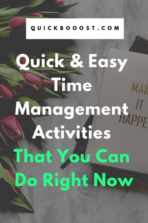 Get more done with these quick and easy time management activities! Learn how you can better utilize your time and take your time management to the next level.