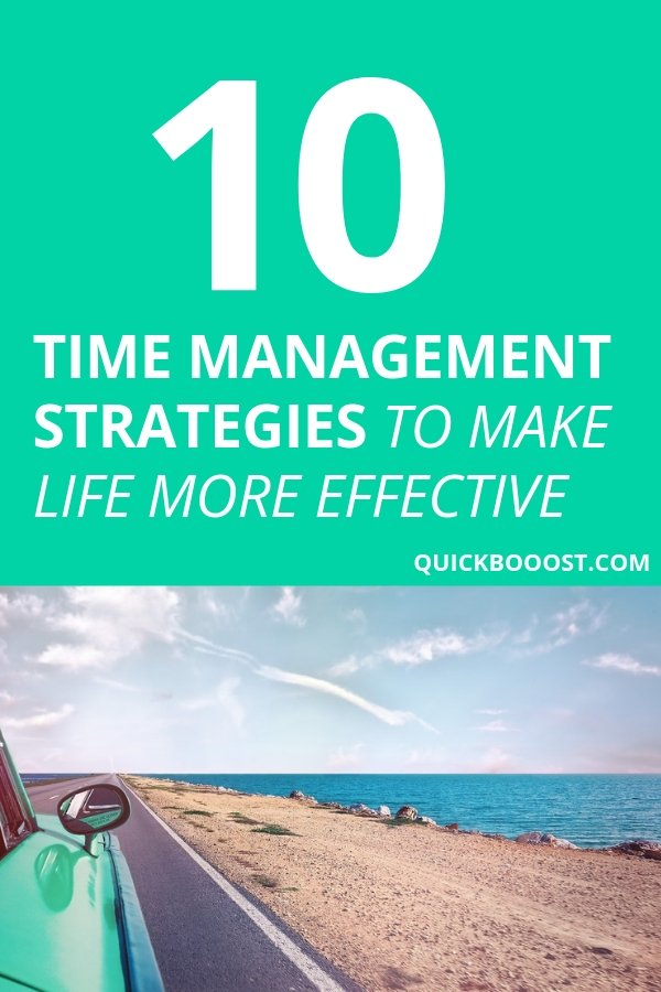 You only get so much time in a day. Use these time management strategies to free up your schedule, be more productive and effective with your time.