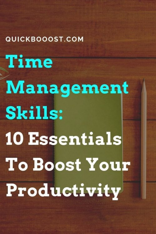 Take your time management skills to the next level! Use these time management tips to get more done, boost your productivity, and better manage your time.