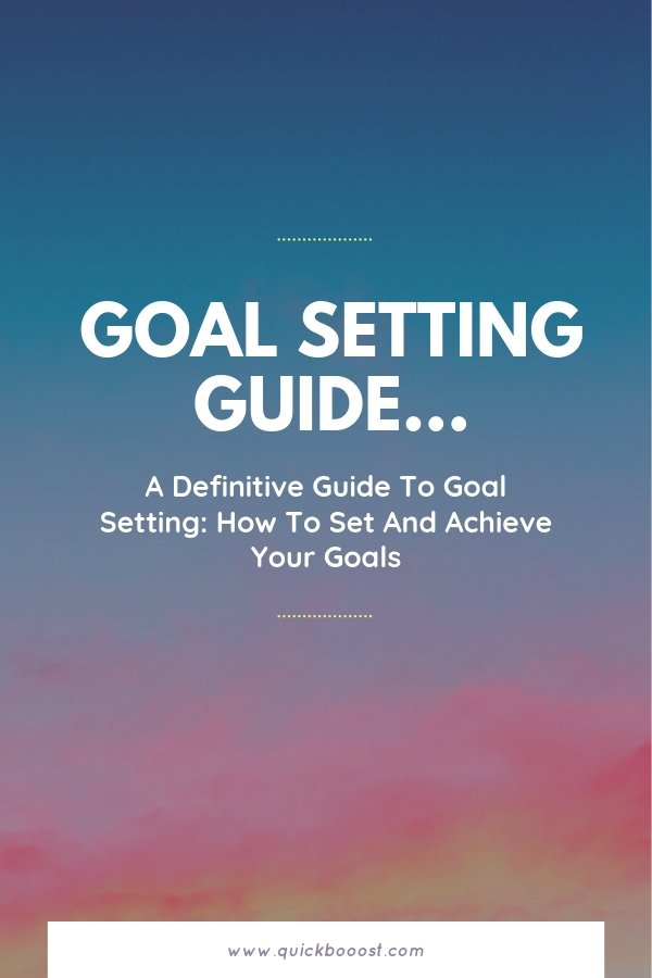 Set and achieve your goals through effective goal setting. Learn what goals are, how to set them, and how to achieve them in this definitive guide to goal setting.