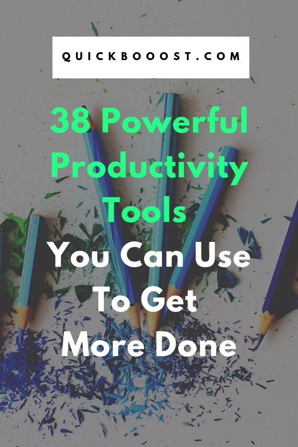 Be more productive and get more done with the help of these powerful productivity tools! Find out which tools are best for you and discover just how more productive you can become.