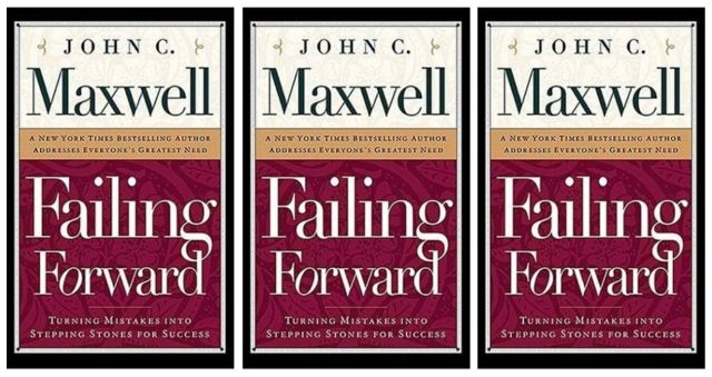 One of my new favorite personal development books is Failing Forward.