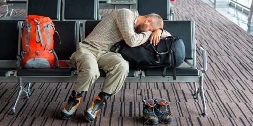 assistências materiais quando tem problemas com o voo