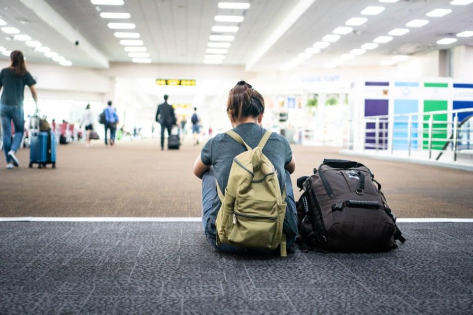 Cancelamento de voo de volta automaticamente