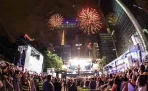 Festa de Réveillon em São Paulo – SP