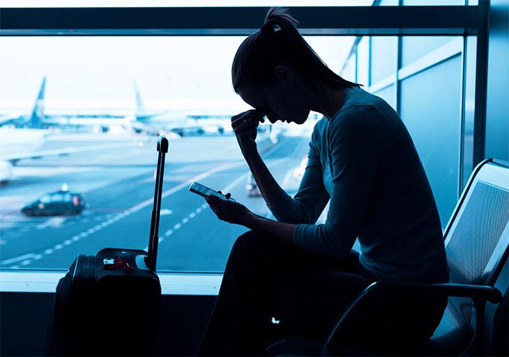 O que fazer quando o voo é cancelado?