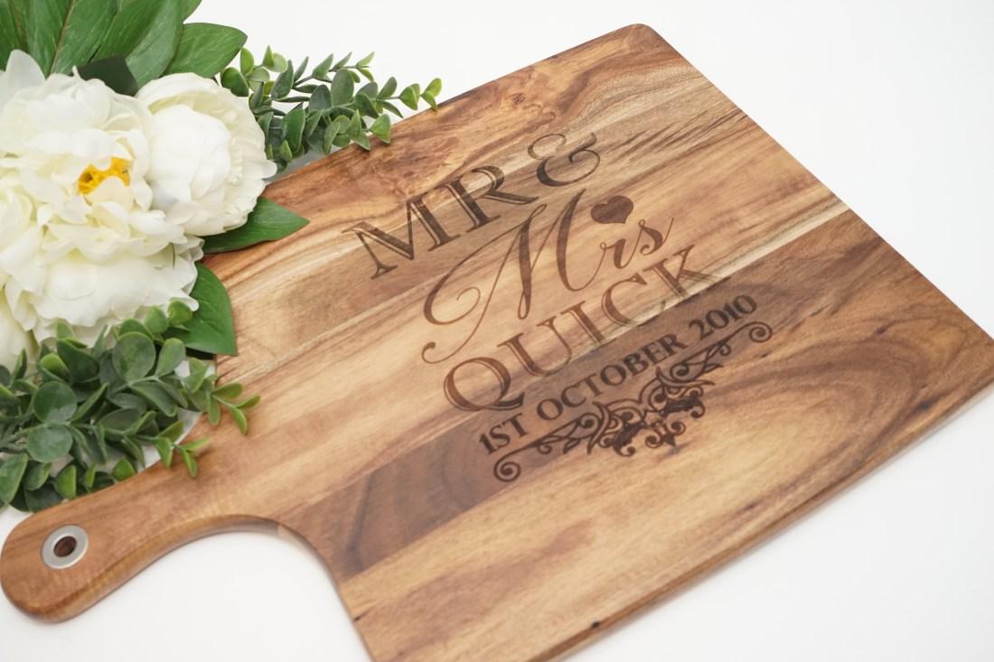 Chopping Board - MR & MRS Design