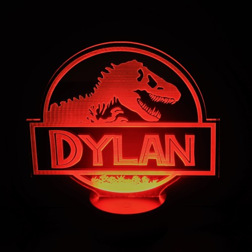 Red TRex Nightlight