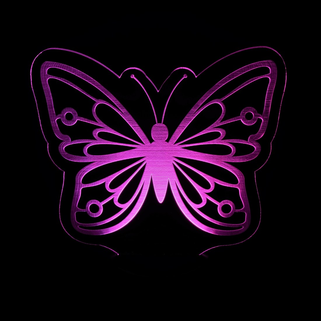 Pink Butterfly Nightlight