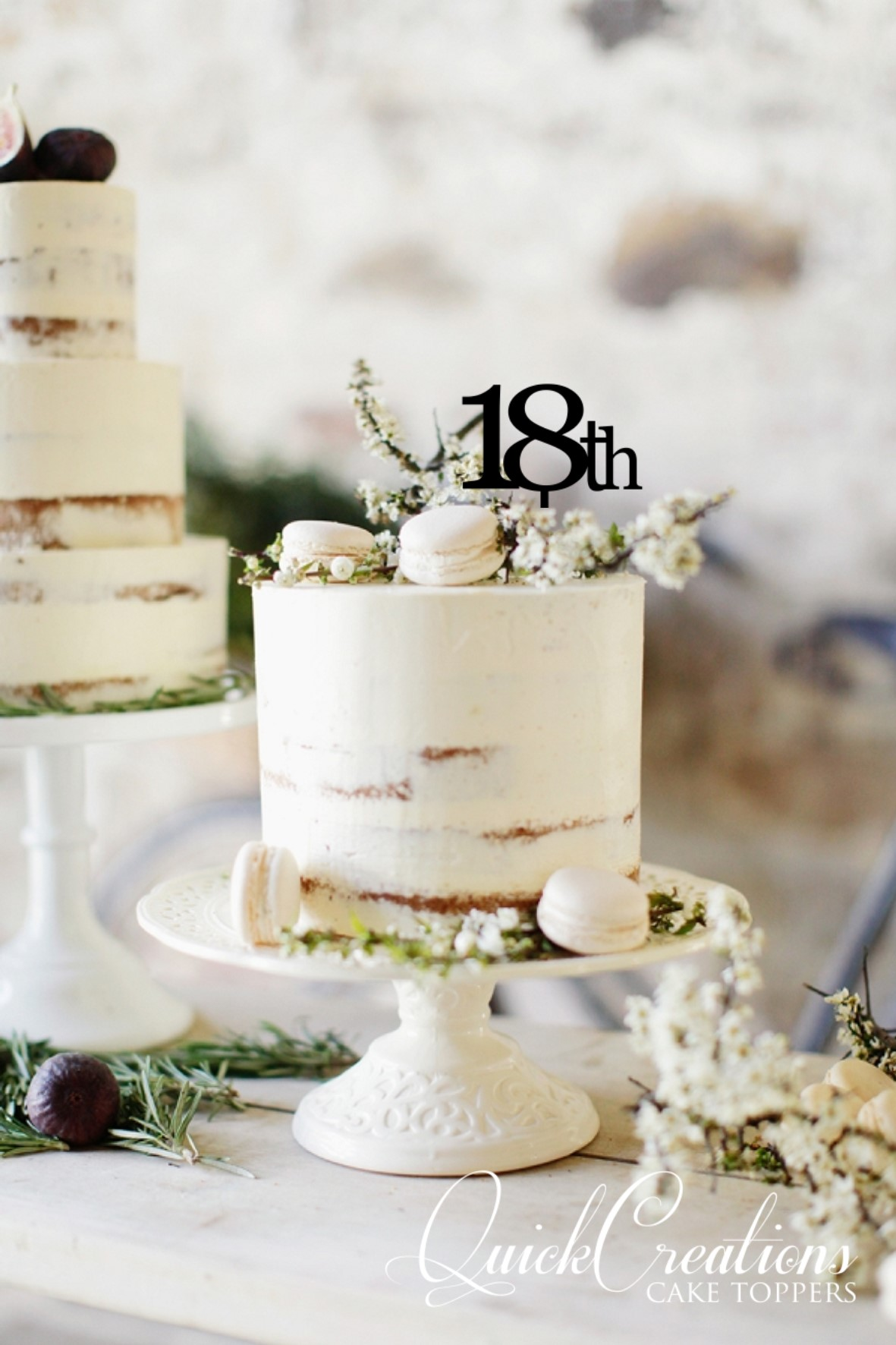 Quick Creations Cake Topper - 18th
