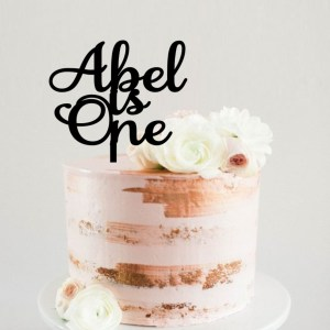Quick Creations Cake Topper - Abel is One