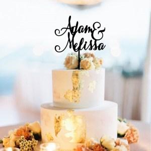 Quick Creations Cake Topper - Adam & Melissa