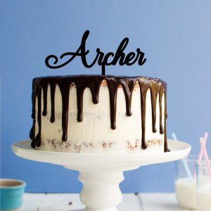 Quick Creations Cake Topper - Archer