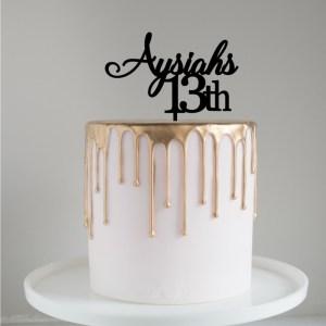 Quick Creations Cake Topper - Asyiha 13
