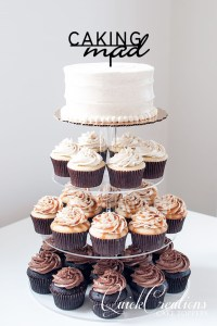Quick Creations Cake Topper - Caking Mad