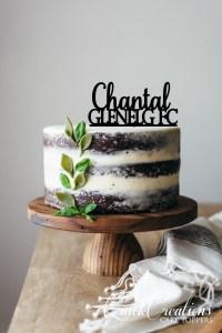 Quick Creations Cake Topper - Chantal Glenelg FC