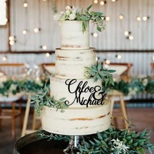 Quick Creations Cake Topper - Chloe & Michael