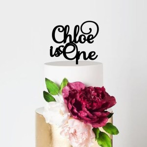 Quick Creations Cake Topper - Chloe is One