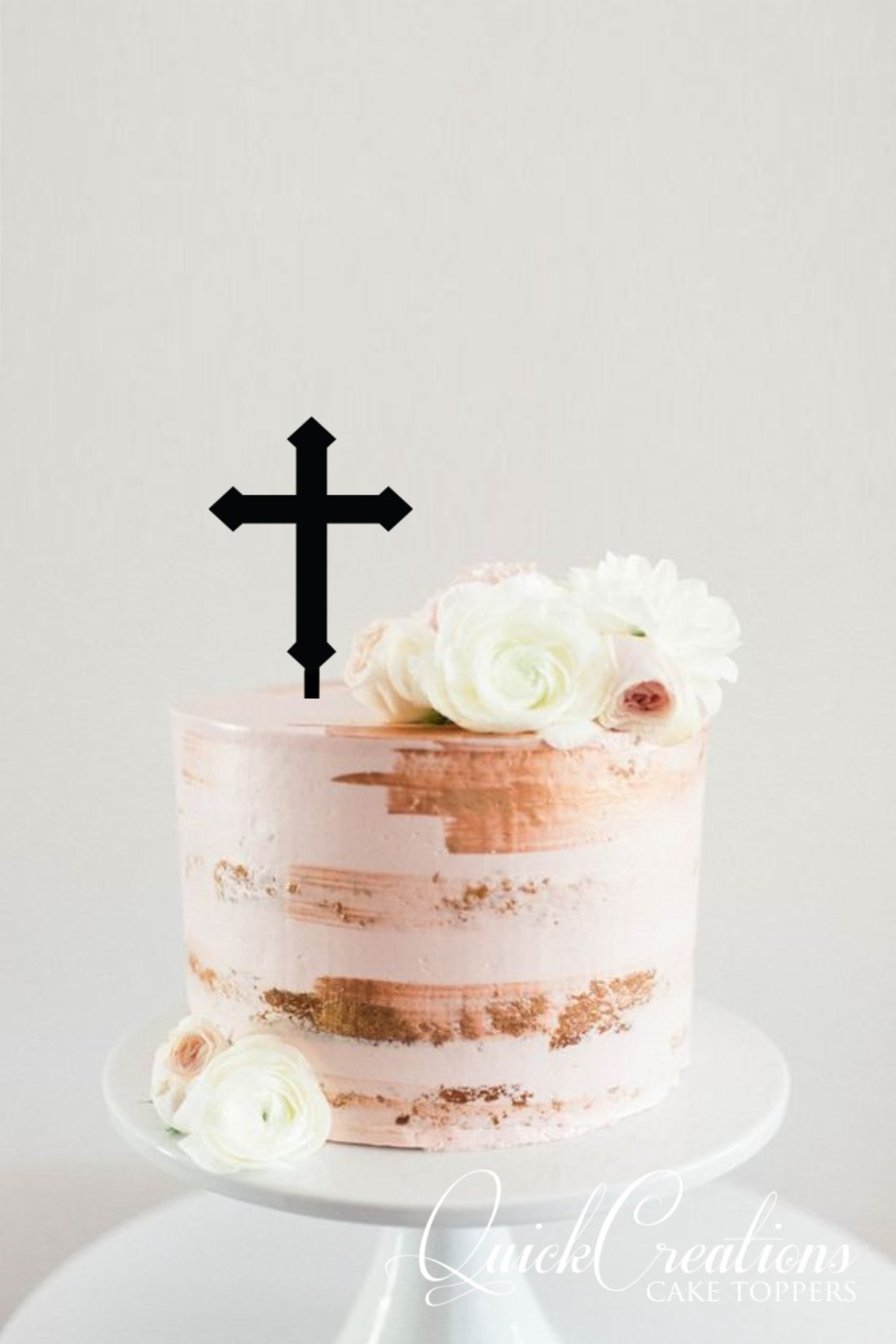 Quick Creations Cake Topper - Cross