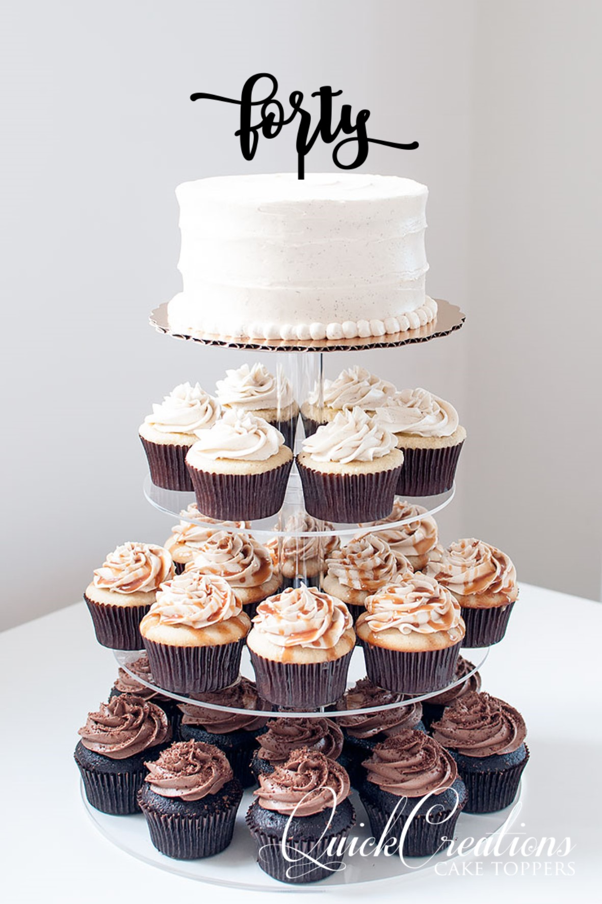 Quick Creations Cake Topper - Forty v3