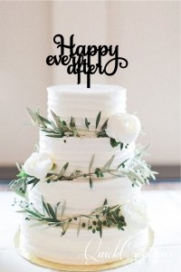 Quick Creations Cake Topper - Happily Ever After
