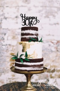 Quick Creations Cake Topper - Happy 30th