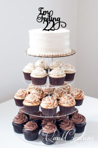 Quick Creations Cake Topper - Im Feeling 22