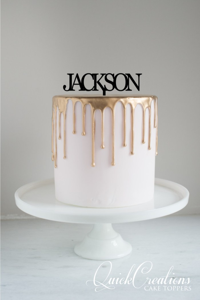 Quick Creations Cake Topper - Jackson