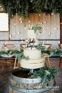 Quick Creations Cake Topper - Jake & Tamara