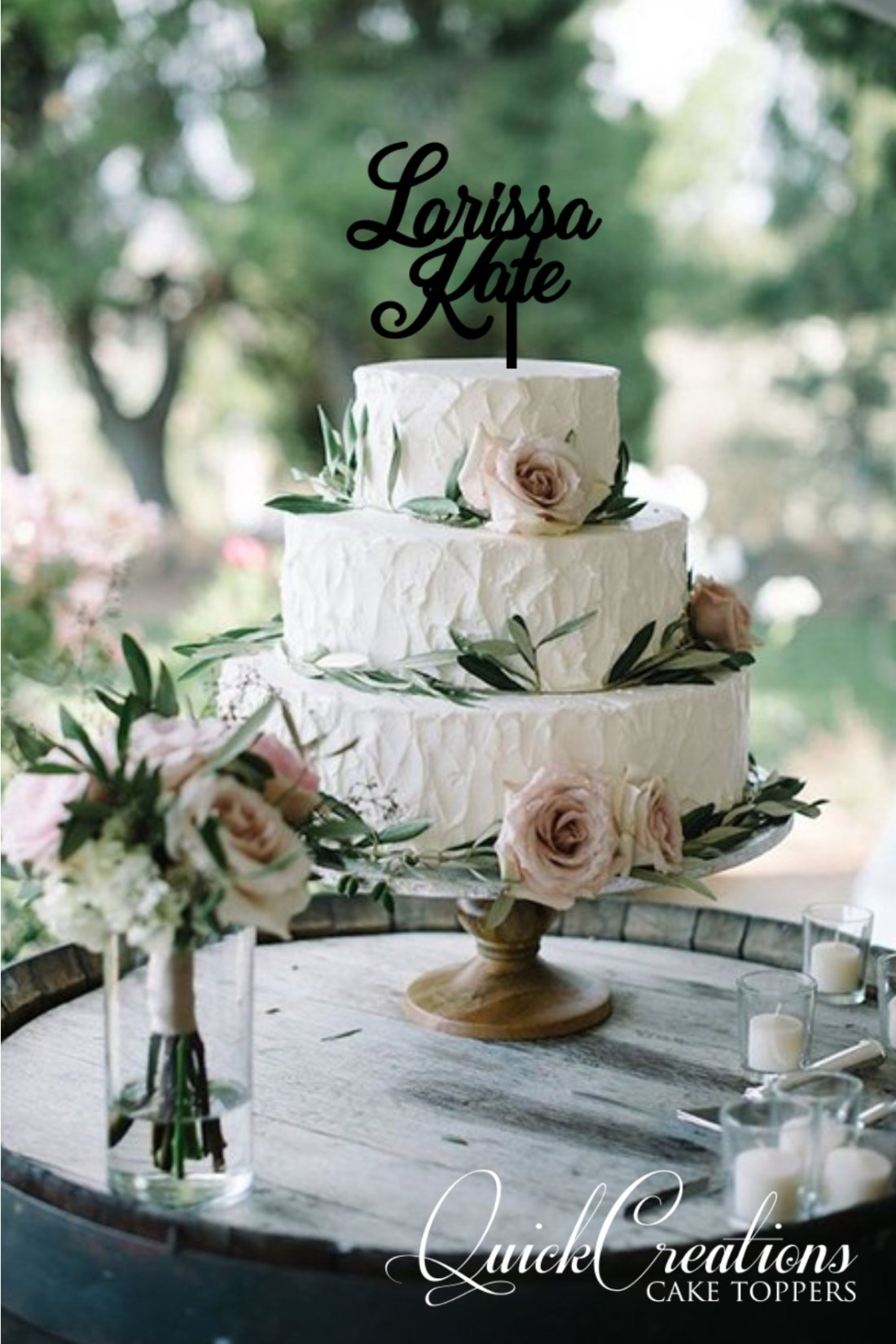 Quick Creations Cake Topper - Larissa Kate