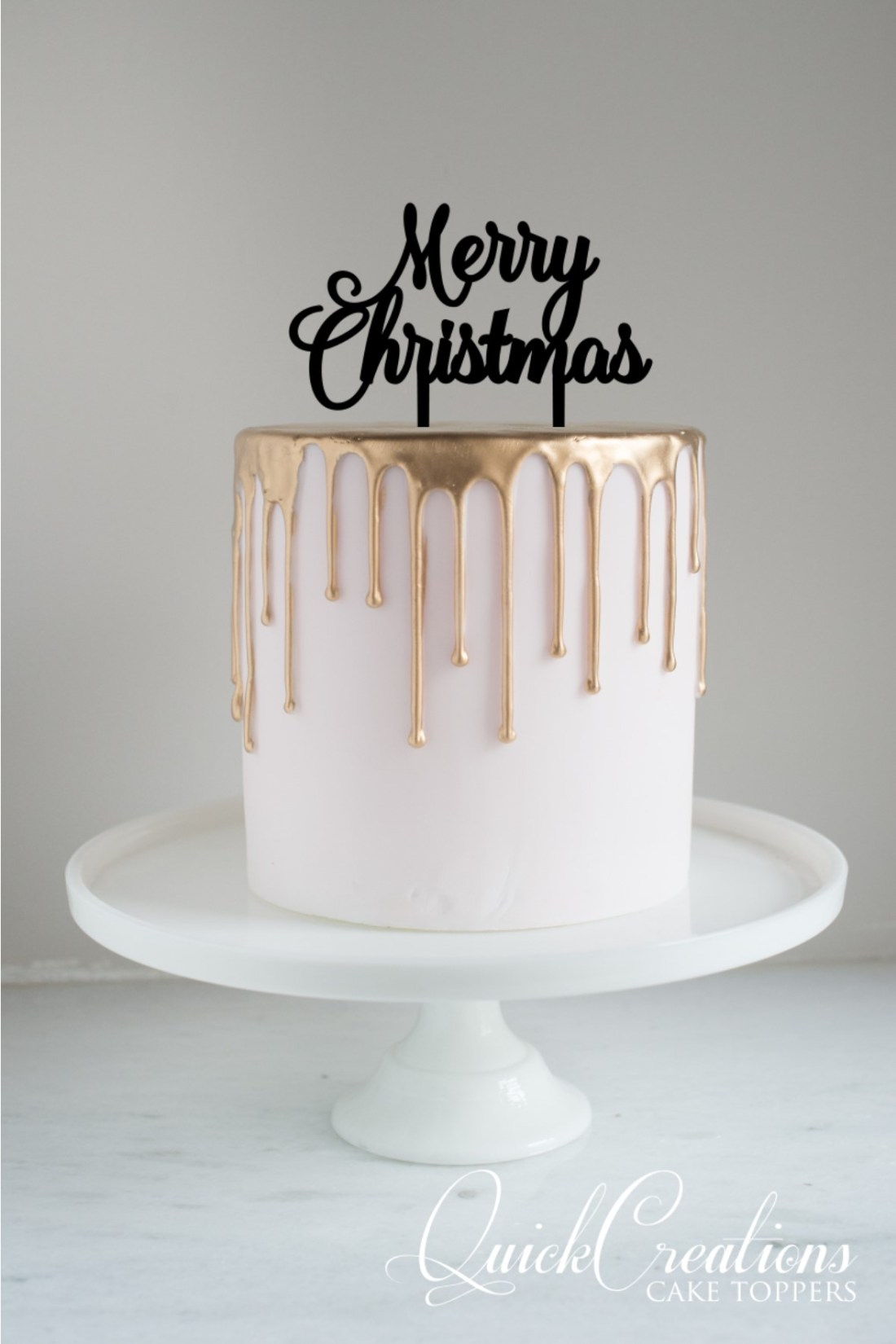 Quick Creations Cake Topper - Merry Christmas