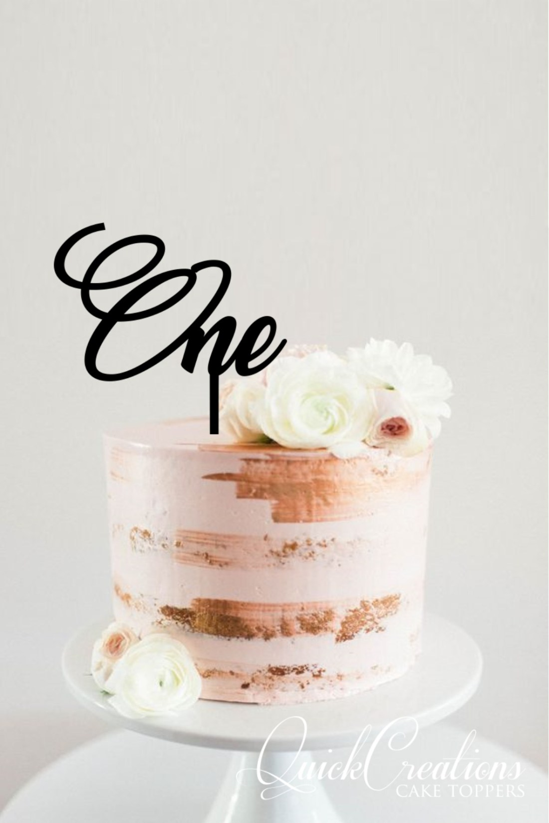 Quick Creations Cake Topper - One