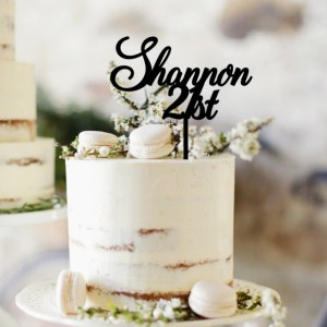 Quick Creations Cake Topper - Shannon's 21st