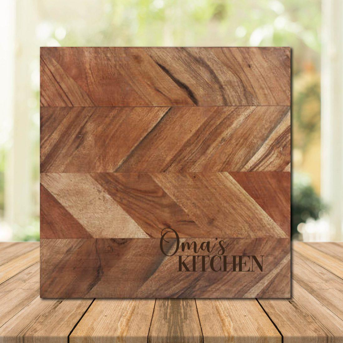 Oma's KITCHEN Chopping Board