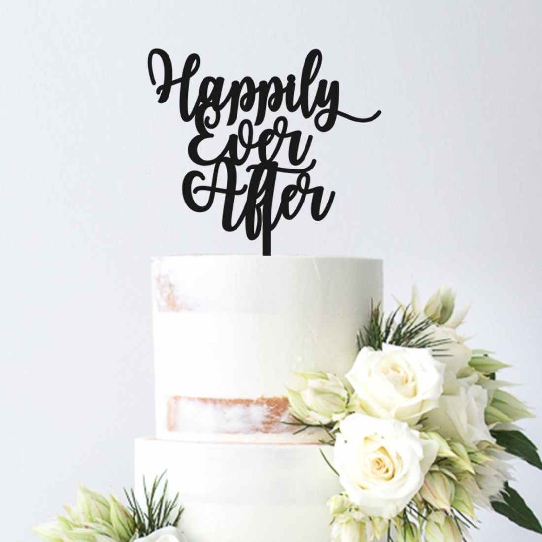 Happily Ever After 1 Cake Topper