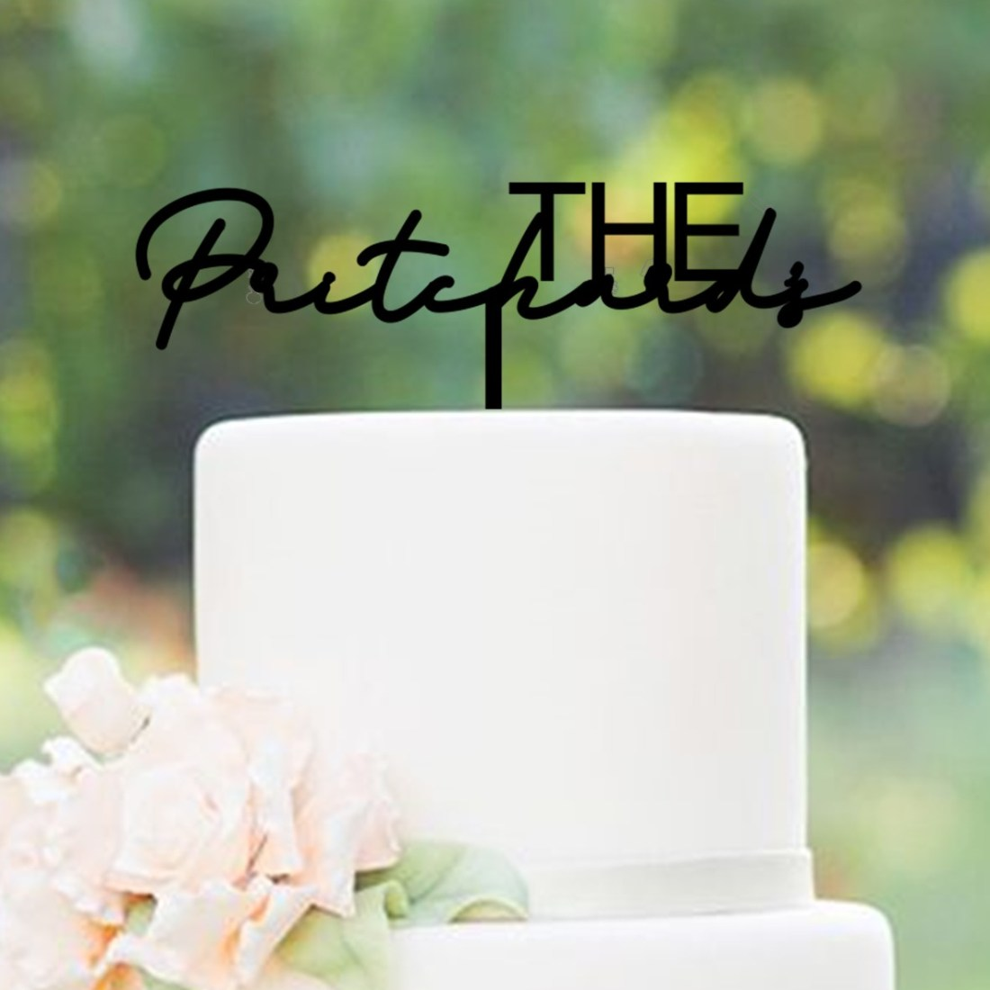 The Personalised Signature Cake Topper