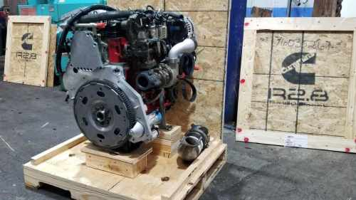 Cummins R2.8 crate engine with adapter kit