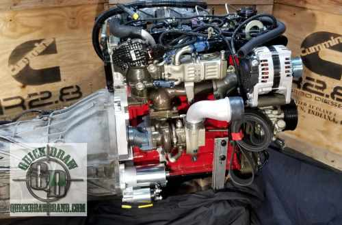 Cummins R2.8 crate engine with Auto Trans