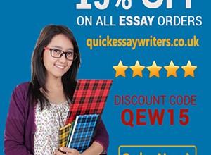 Professional Essay Paper Writing Service 15% OFF Discount Code QEW15