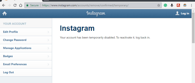How to Disable Instagram Account Temporarily [2017]